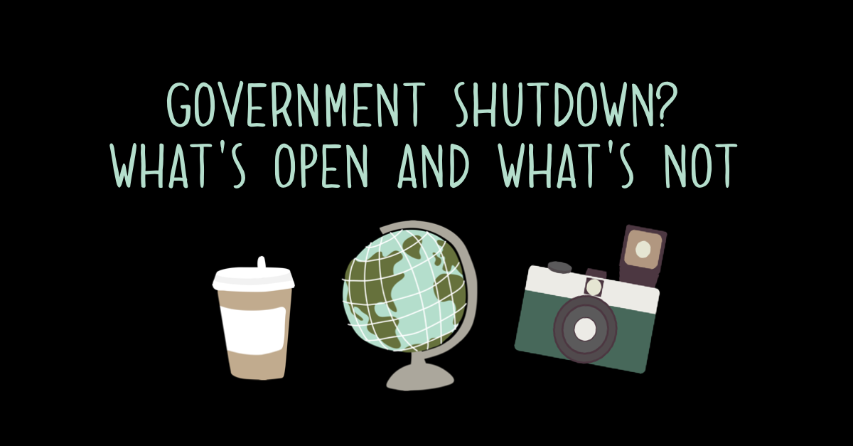 What's open during the federal government shutdown?